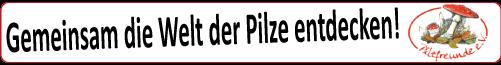 Pilzfreunde e.V. - Der Treffpunkt für alle deutschsprachigen Pilzsammler.